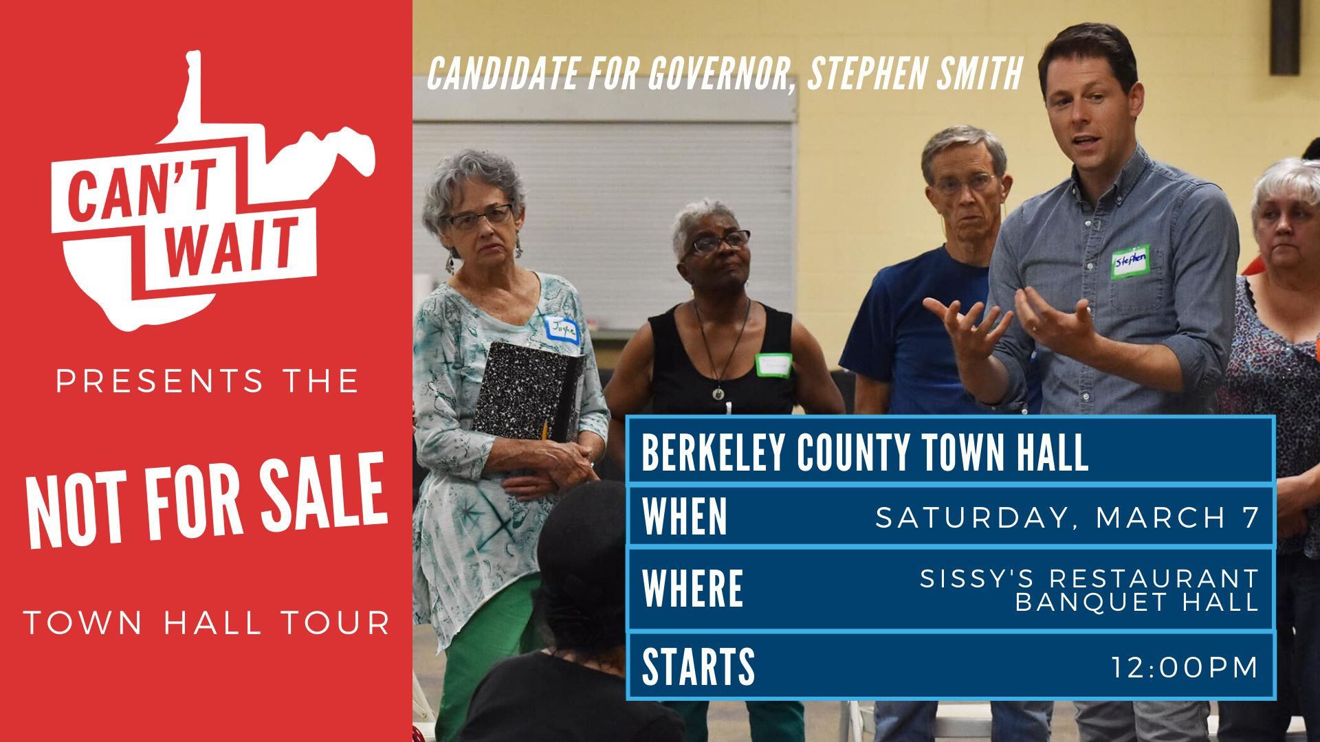 Berkeley County Town Hall graphic