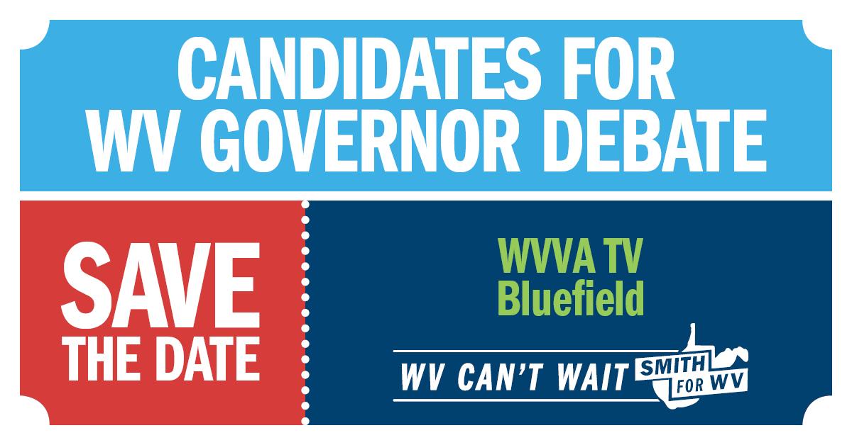 WV Gubernatorial primary debate ticket