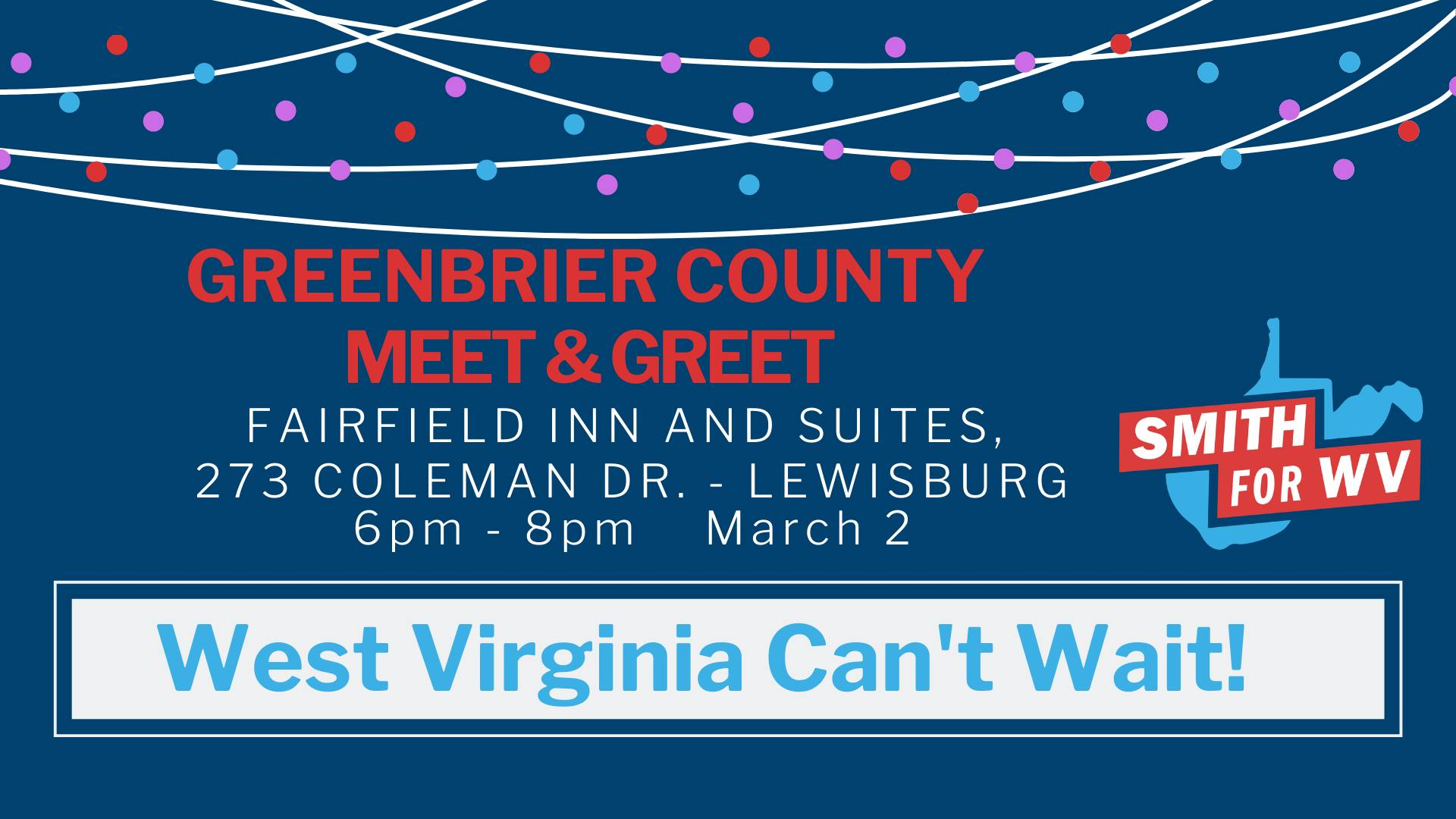 Greenbrier Co. Fundraiser graphic
