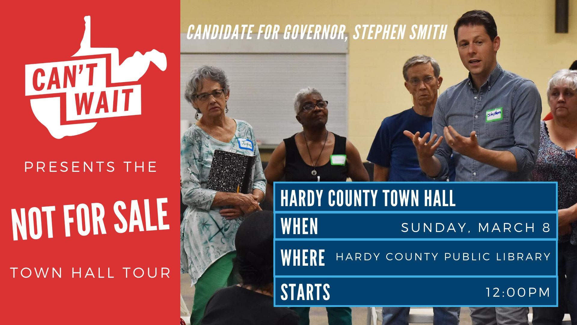 Hardy County Town Hall graphic