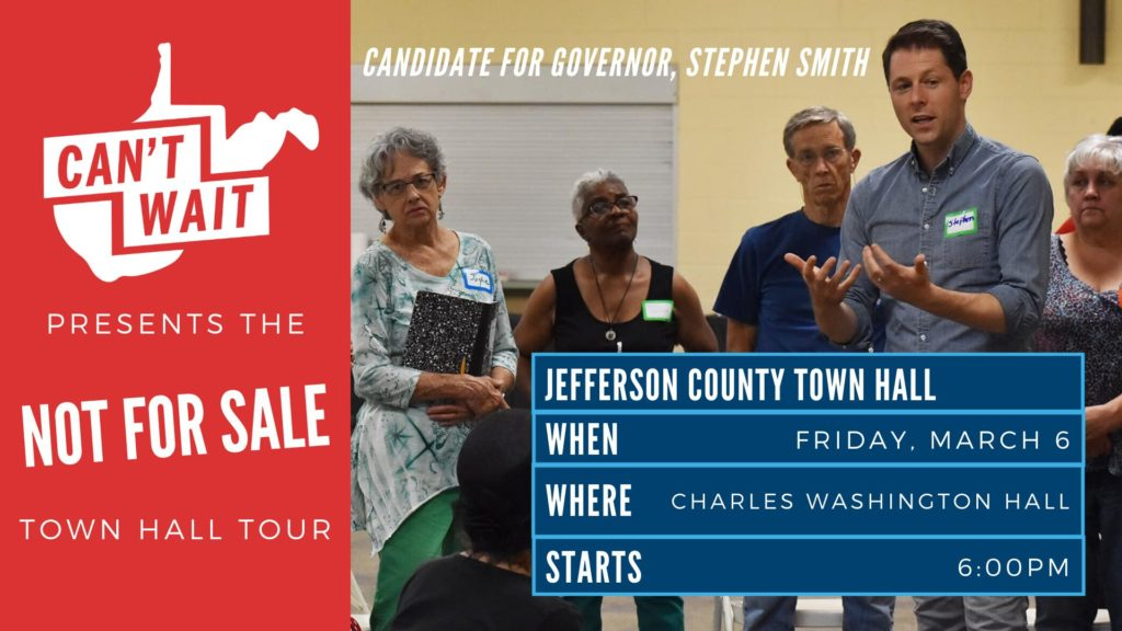 Jefferson County Town Hall graphic
