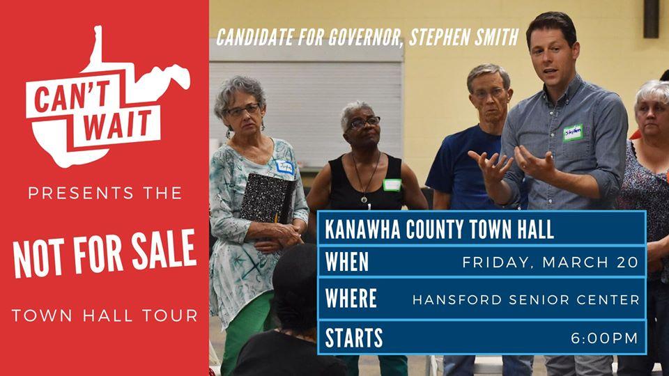 Kanawha County Town Hall graphic