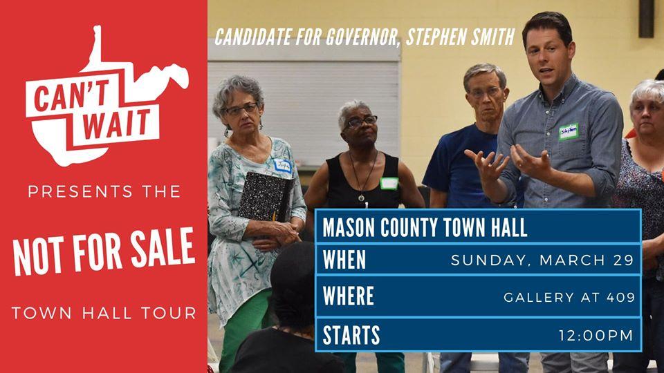 Mason County Town Hall graphic