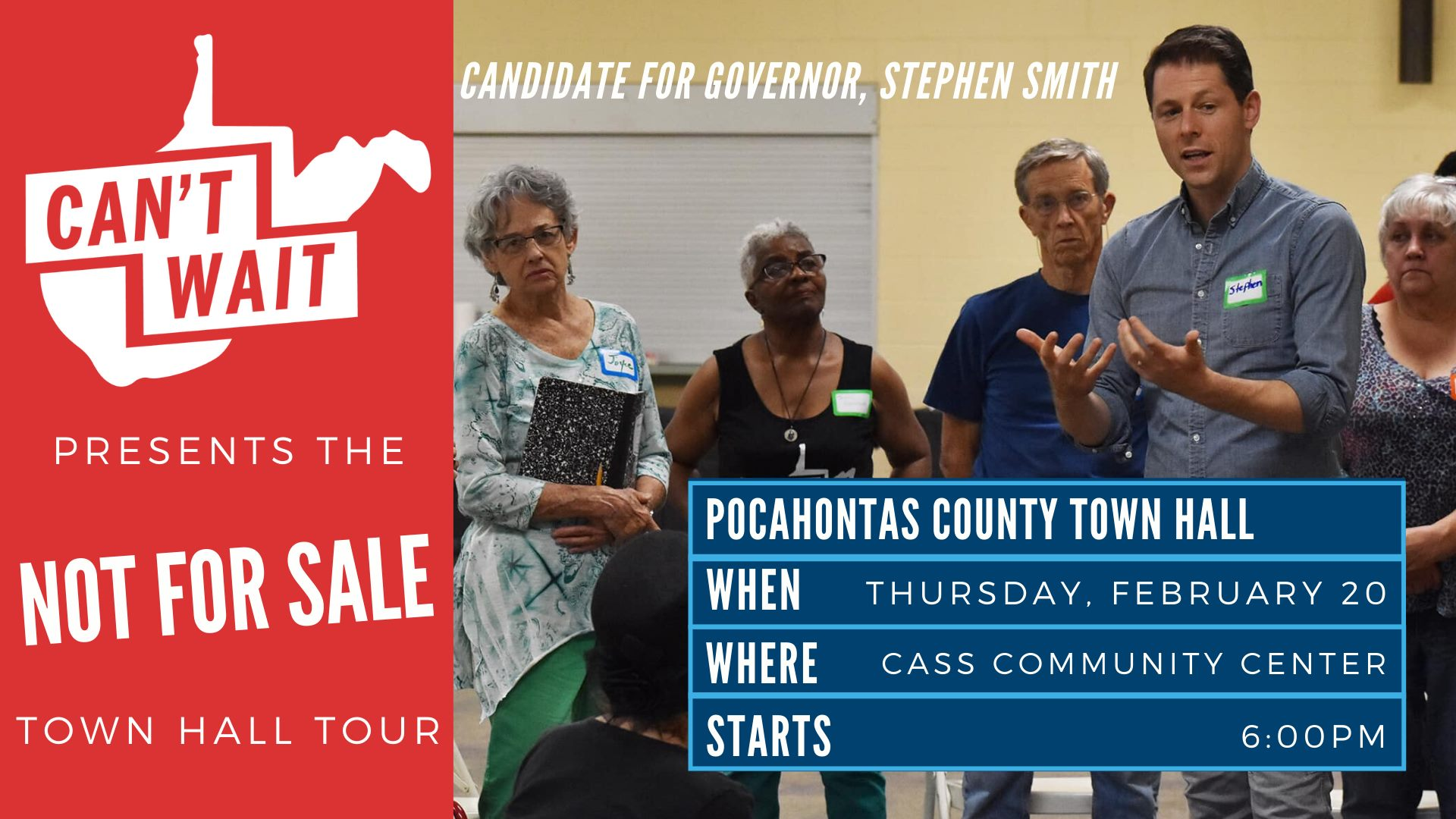 Pocahontas Co town hall graphic
