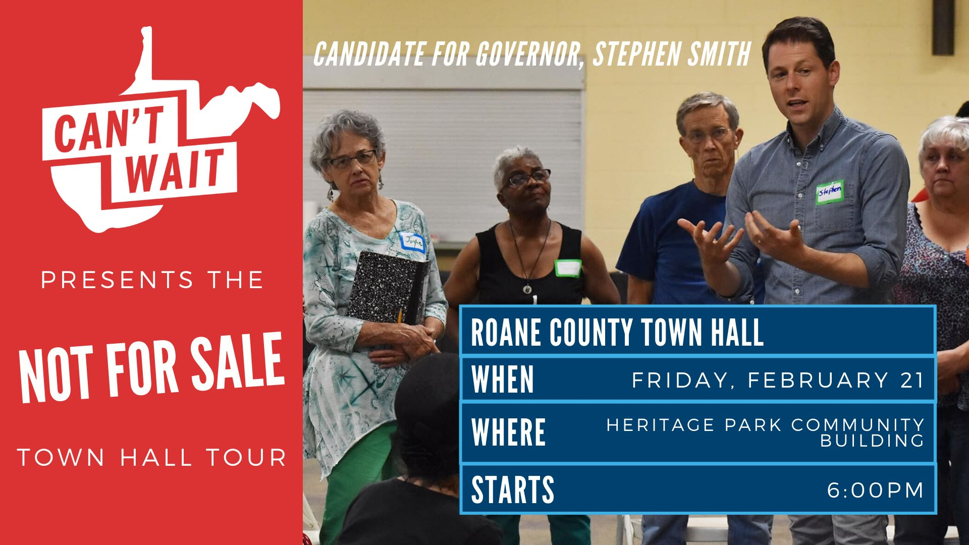 Roane County Town Hall graphic