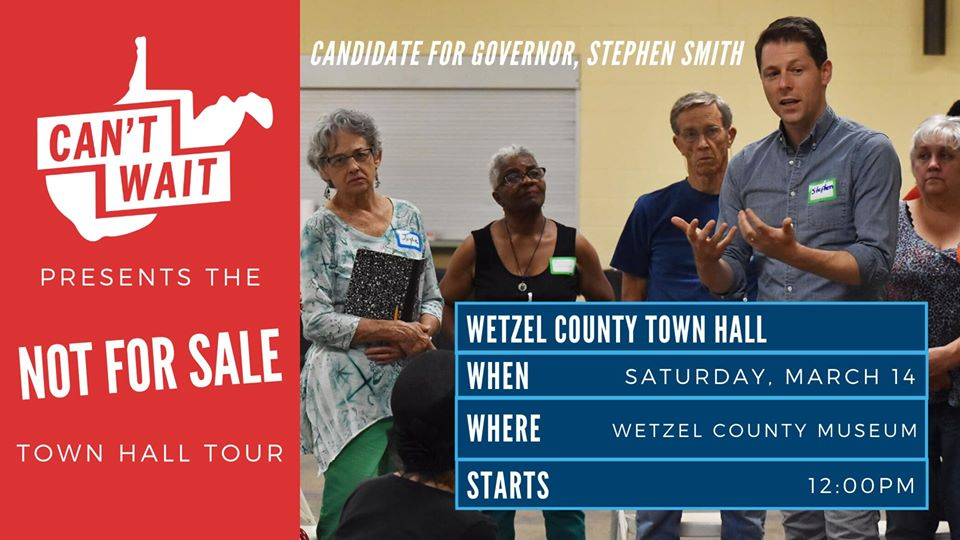 Wetzel County Town Hall graphic